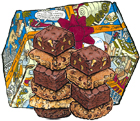 10 Piece Custom Pastry Sampler in a Cartoon Box