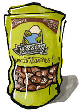 Mrs. Sipps Spiced Almonds