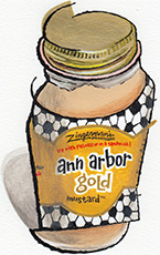 Ann Arbor Gold Honey Mustard