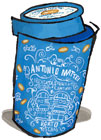 Antonio Mattei Almond Biscotti in Blue Tin