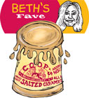 Coop's Salted Caramel Sauce: Beth's Favorite