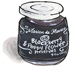 Blackberry & Poppy Flower Preserves
