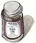 Ground Black Lime