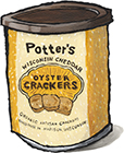 Cheddar Oyster Crackers
