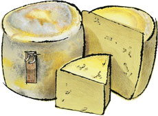 Kirkham's Lancashire Cheese from Great Britain