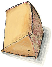Lincolnshire Poacher Cheese from Great Britain