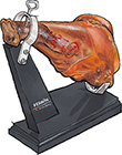 Cured Ham Slicing Stand