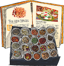 Epices de Cru Spice Set and Book