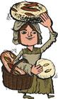 Rustic Peasant Bread Gift Box