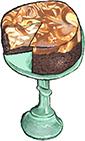 Halvah Swirl Cheesecake