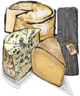 3 Cheeses Customizable Gift Box