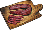 Borsellino Salami: Dry cured pork salami.