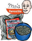 Fire Parched Wild Rice: Mo's favorite