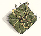 Chestnut Leaf Wrapped Napoleon