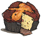 Traditional Panettone from Italy