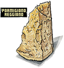Parmigiano Reggiano Cheese from Valserena