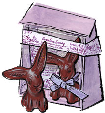 Vosges chocolate easter bunny for sale buy online at zingermans vosges chocolate easter bunny negle Gallery
