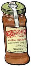 Scottish Heather Honey with Whisky