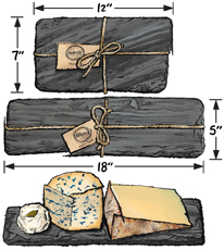 Slate Cheese Serving Boards