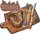 Smoked Berkshire Porterhouse Pork Chops