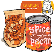 Spiced Pecans: Sharon's Favorite