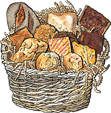 Sunday Afternoon Bakery Basket