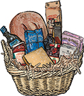 Tuscan's Treat Gift Basket