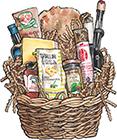Tuscan's Treat Gift Basket