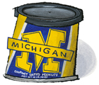 University of Michigan Salted Peanuts