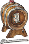 Barrel of 16 Year Aged Balsamic