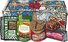 Customizable 6 Vegetarian Snack Gift Box