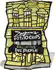 Zingerman's Pickle Potato Chips